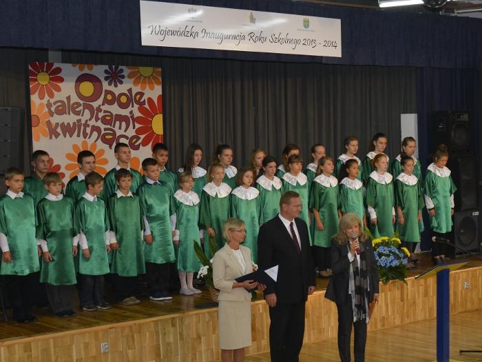 You are browsing images from the article: Wojewódzka Inauguracja Roku Szkolnego