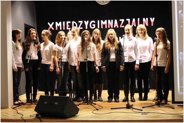 You are browsing images from the article: X Międzygimnazjalny Konkurs Pieśni Patriotycznej