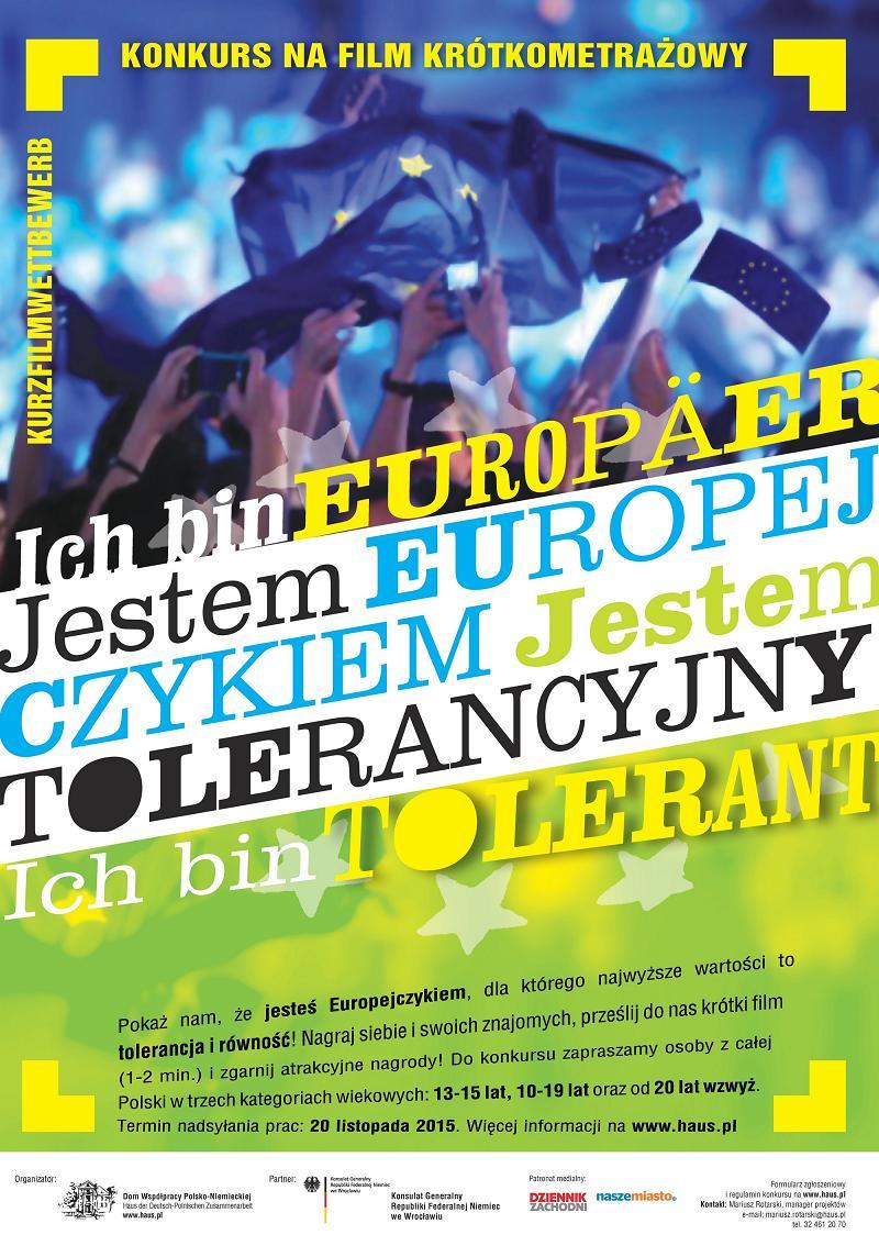 "You are browsing images from the article: 20.10.2015 – KONKURS FILMOWY ""JESTEM EUROPEJCZYKIEM"""