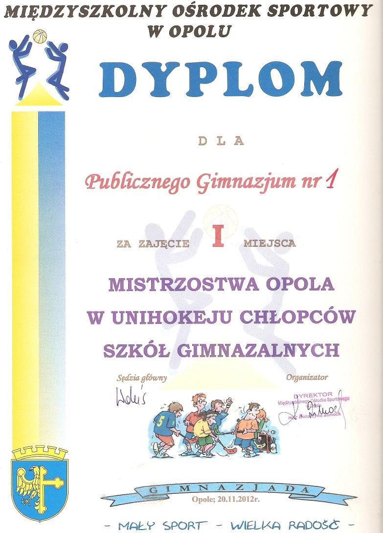 You are browsing images from the article: UNIHOKEJ naszą specjalnością!