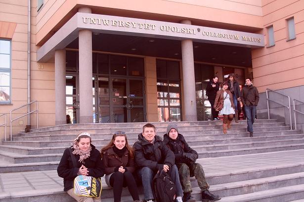 You are browsing images from the article: Wizyta Pani prof. Teresy Smolińskiej z Uniwersytetu Opolskiego